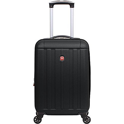 "SwissGear Travel Gear 6297 19"" Expandable Hardside Spinner Luggage (Black)"