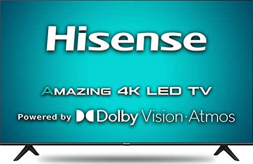 Hisense 126 cm (50 inches) 4K Ultra HD Smart Certified Android LED TV 50A71F (Black) (2020 Model) | With Dolby Vision and ATMOS