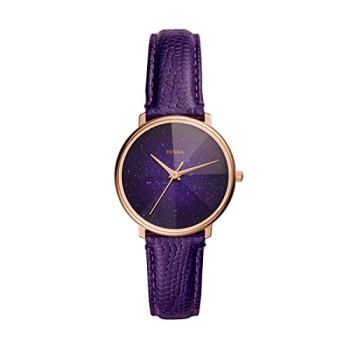 Fossil Women's Prismatic Galaxy Three-Hand Rose Gold-Tone Stainless Steel Watch ES4727