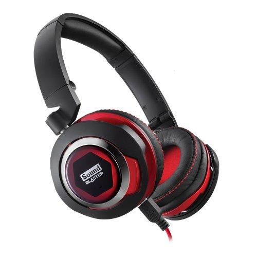 Creative Labs GH0260 Diadema Negro, Rojo Auricular con micrófono - Auriculares con micrófono...