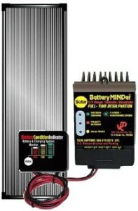 BatteryMINDer Solar Charging System – 12 Volt, 15 Watt Panel, Model# SCC-015