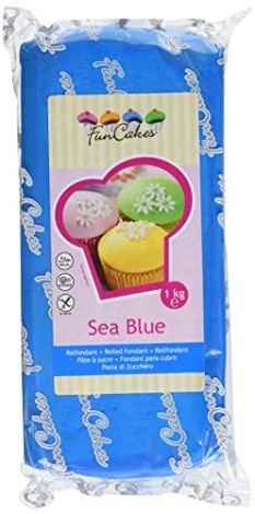 FunCakes Pasta di Zucchero Azzurra - 1000 gr