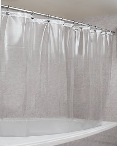 Epica MarketEpica Strongest Mildew Resistant Shower Curtain Liner on The Market, 72' x 72', Clear