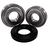 Front Load Bearings Washer Tub Bearing and Seal Kit with Nachi bearings, Fits Kenmore Tub 131525500 (Includes a 5 year replacement warranty and link to our'How To' videos).