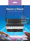 Beam n Read LED 6 Hands-Free Task Light; Extra Wide and Extra Bright Light from 6 LEDs plus 2 Blue Light Blocking Relaxation Filters