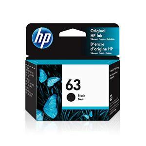 HP 63 | Ink Cartridge | Black | Works with HP DeskJet 1112, 2100 Series, 3600 Series, HP ENVY 4500 Series, HP OfficeJet…