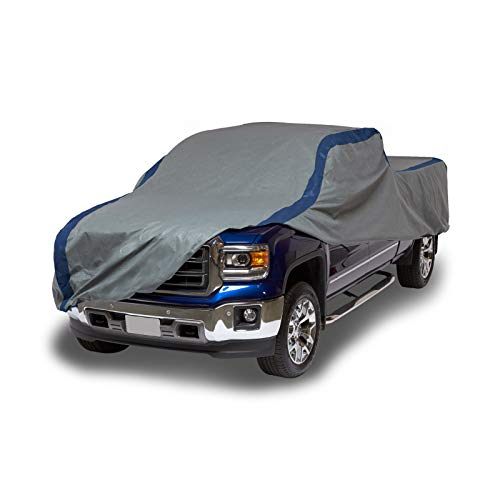 Duck Covers Weather Defender Pickup Truck Cover for Extended Cab Short Bed Trucks up to 19' 4'