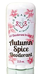 Organic Fields of Heather Autumn Spice Organic & Natural Deodorant With Botanically Infused Ingredients, 2.5 fl. Oz  Image