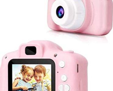 Shree Hari Enterprise Kids Digital Camera | Web Camera for Computer Child Video Recorder Camera Full HD 1080P Handy Portable Camera 2.0 Screen with Inbuilt Games for Kids (Multicolor)