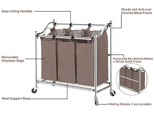 Top 10 Best Laundry Hampers On Wheels Best Of 2018