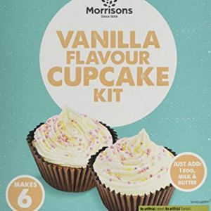 Morrisons Vanilla Cupcake Mix, 300 g, Pack of 5 413MuyzXOJL