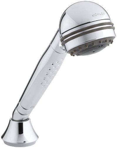 KOHLER K-8501-CP Master Shower 3-Way Invigorating Handshower, Polished Chrome