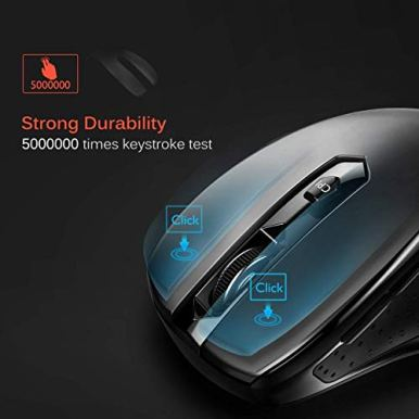 VicTsing-MM057-24G-Wireless-Mouse-Portable-Mobile-Optical-Mouse-with-USB-Receiver-5-Adjustable-DPI-Levels-6-Buttons-for-Notebook-PC-Laptop-Computer-Macbook-Black