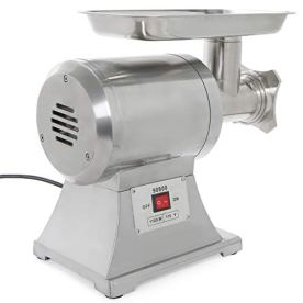 Ensue-Commercial-1100W-Electric-Meat-Grinder-Mincer-Stainless-Steel-Industrial-1HP-FDA-Certificated-12-Grinder-Size