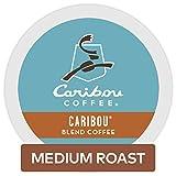 Caribou Coffee Caribou Blend, Single Serve Coffee K-Cup Pod, Medium Roast, 12 count, Pack of 6