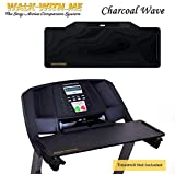 DigitalArts.ws Classic Plus Walk with Me - Detachable Treadmill Desk (Charcoal Wave)