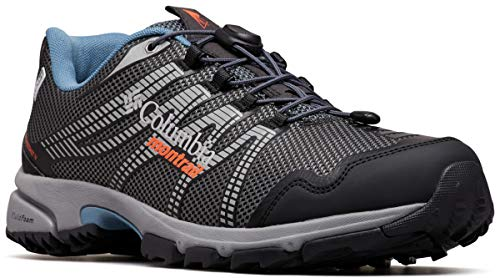 Columbia Montrail Men's Mountain Masochist IV Outdry Sneaker, Graphite/red Quartz, 9 Regular US