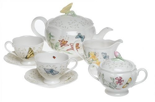 Lenox Butterfly Meadow 8-Piece Tea Set, Service for 2