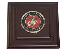 US Marine Corps Medallion Desktop Box