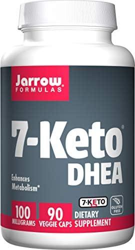 Jarrow Formulas 7-Keto DHEA, Enhances Metabolism, 100 mg, 90 Caps 3