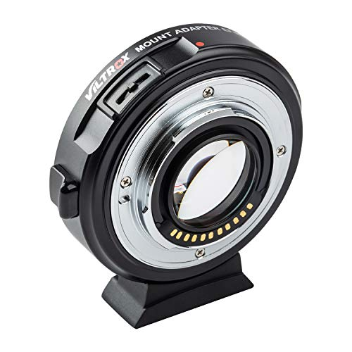 VILTROX-EF-M2II-Focal-Reducer-Booster-Adapter-Auto-Focus-071x-for-Canon-EF-Mount-Series-Lens-to-M43-Camera-GH4-GH5-GF6-GF1-GX1-GX7-E-M5-E-M10-E-M10II-E-PL5