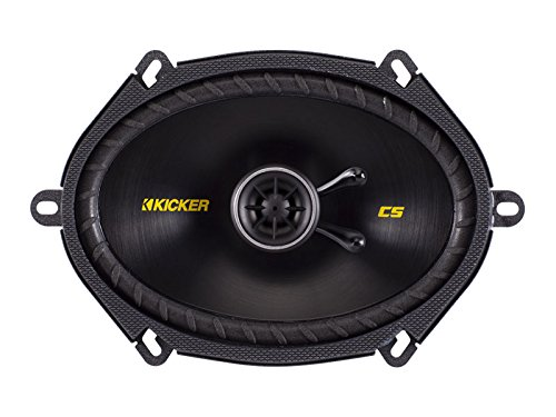 3. Kicker 40CS684 6x8 inch 2-Way Speakers