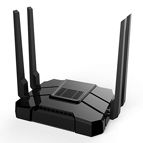 【Newest 2019】 Wireless WiFi Router Up to AC1200Mbps High Speed Home Office Router Ideal for Gaming & HD Video Streaming Works Great with Any Wireless Internet