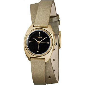 Timex Women's Milano Double-Wrap 24mm | Gold-Tone | Watch TW2R69800