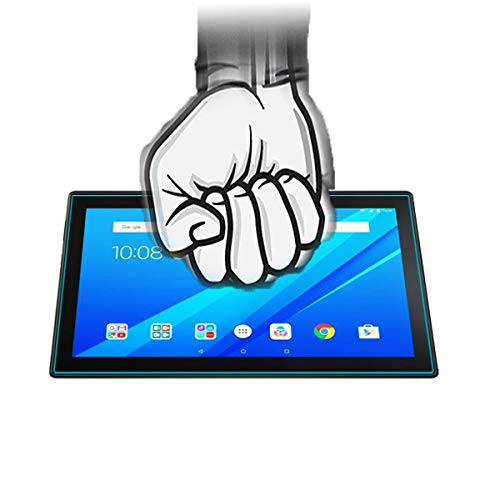 Acm Tempered Glass Screenguard Compatible with Lenovo Tab 4 10 Tb-X304l Tablet Screen Guard 6
