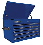 Homak 27-Inch Professional Series 9 Drawer Extended Top Chest, Blue, BL02027901