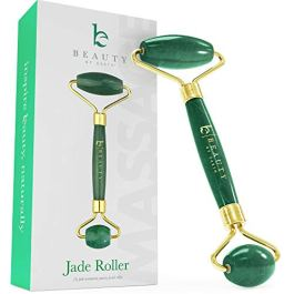 Jade Roller for Face – Face & Neck Massager for Skin Care, Facial Roller to Press Serums, Cream and Oil Into Skin…