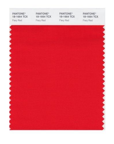Resultado de imagen de fiery red pantone