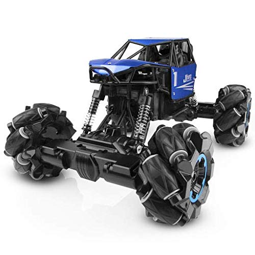 Jive RC Truck - Remote Control Truck, Monster Truck, Dancing RC Crawler 4x4, RC Cars for Kids (Blue)
