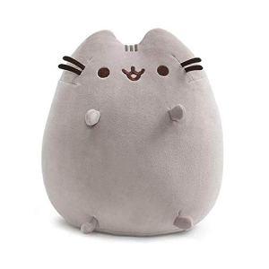 GUND Pusheen Squisheen Sitting Plush Cat, 11″ 4143UTu5sfL