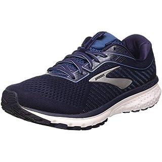 Brooks Men's Mid-Top Sneaker, Navy Stellar White, 8 Running Shoes Store Near Me