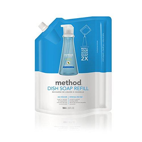 Method Dish Soap Refill, Sea Minerals, 36 Ounce