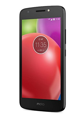 Virgin Mobile Motorola Moto E4 4G LTE 16GB ROM Prepaid Smartphone Unlocked,Black