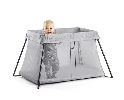 BABYBJORN Travel Crib Light - Silver