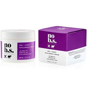 No B.S. Hyaluronic Acid Cream For Face - Day + Night with Hyaluronic Acid, Jojoba Oil, Apricot Oil & Squalane. Potent… 37