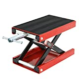 ZENY 1100 LB Wide Deck Motorcycle Center Scissor Lift Jack Repair Hoist Stand Bikes ATVs,Motorcycle Dirt Bike Scooter Crank Stand
