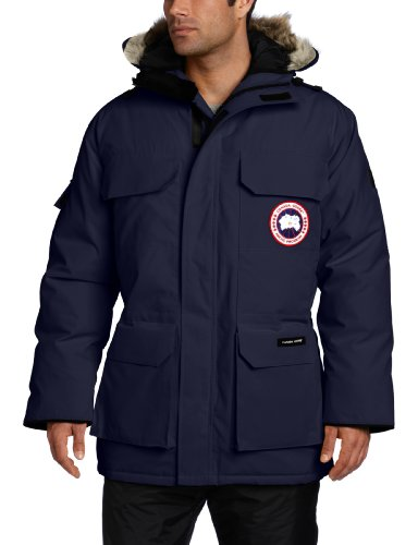 Canada Goose Men's Expedition Parka, Navy, Large