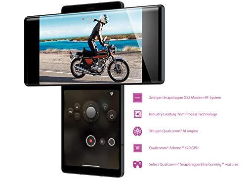 414RQ2ZKMFL - LG Wing with Swivel Mode (Aurora Gray, 8GB RAM, 128GB Storage)