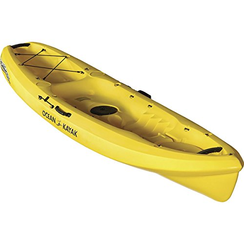 Ocean Kayak Scrambler 11 Sit-On-Top Recreational Kayak, Yellow