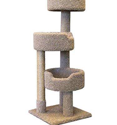 New Cat Condos 52″ Deluxe Cat Tree, Large