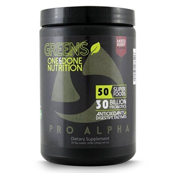 Pro Alpha Green Superfood Powder Review
