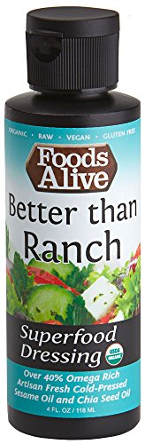 Superfood Dressing, Better Than Ranch, Organic, 4oz