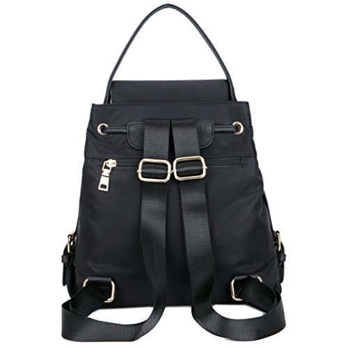TOPSHINE Women Mini Backpack Purse Small Turnlock Tie - Fashion 206e109337187