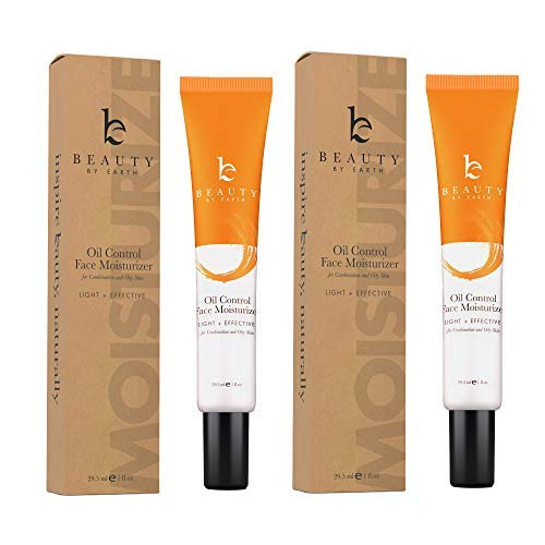Oil Control Face Moisturizer - Natural & Organic Anti Aging Facial Moisturizer for Men & Women, Best Face Moisturizer for Oily Skin or Acne Moisturizer, Mens Face Moisturizer with Hyaluronic Acid