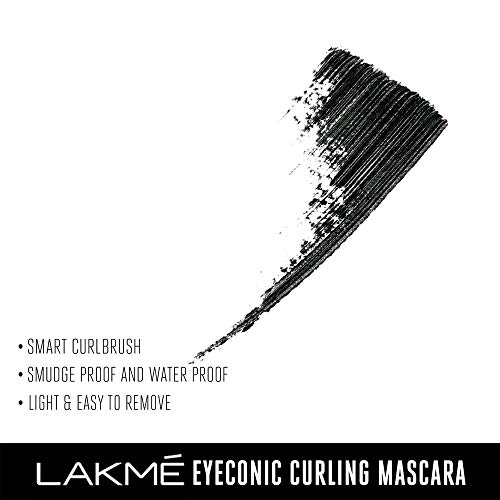 Lakmé eyeconic lash curling mascara for eyelash volume, smudge proof, water proof, black, 9 ml | latest news live | find the all top headlines, breaking news for free online april 9, 2021