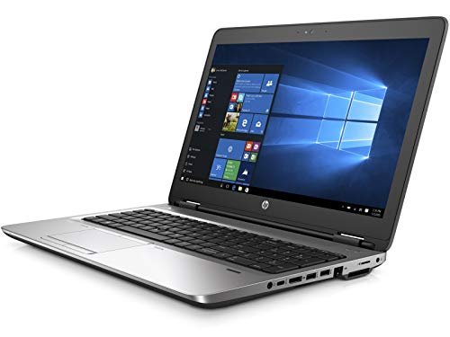 (Renewed) HP 650G2 Probook 15.6 Inch Screen with Numeric Keypad (6th Gen Intel Core i5 - 6300U /8 GB/2000 GB HDD/Windows 10 Pro), Black 129